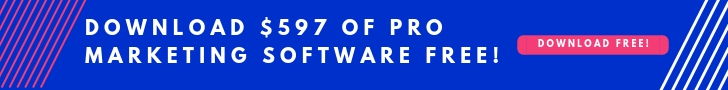 Download $597 free marketing software